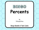 Percents - BINGO and Task Cards