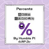 Percents Bundle-6.RP.3c