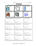 Shopping Percents: Tax, Discount and Final Price Worksheets