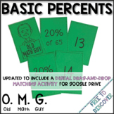 Percents Card Game