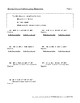 Percents: Convert Decimals/Fractions; Solve Using Equations/Proportions