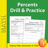 Percents: Drill & Practice
