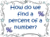 Percents: Finding Percent of a Number