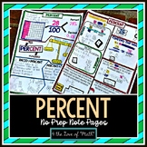 Percents: Intro, Finding Part/Whole Plus Solving Percent W