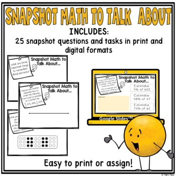 Percents Math Talk