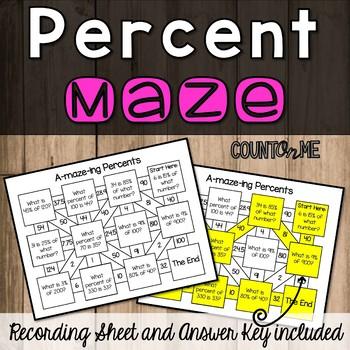 Percents Maze