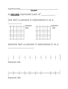 Percents Notes