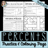 Percents Practice and Activity