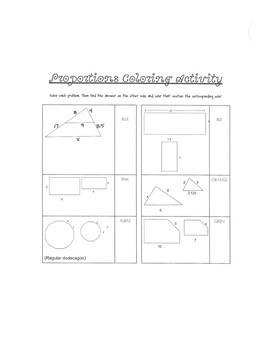 Percents, Ratios, & Proportions Math Stations