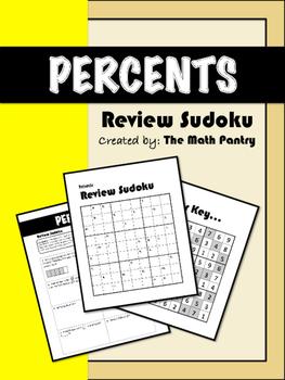 Percents - Review Sudoku