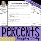 Percents Shopping Activity
