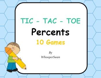 Percents Tic-Tac-Toe