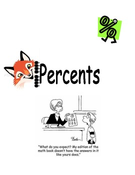 Percents Unit Note Packet