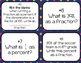 Percents and Fractions Task Cards