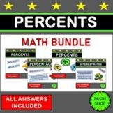 Percents of a Quantity Percentages of Amounts Math