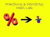 Percents to Fractions
