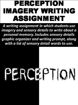 Perception Imagery Writing Assignment