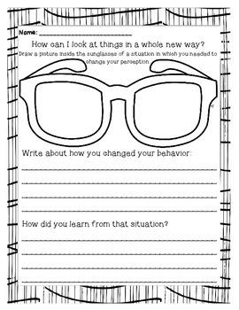 Perception & Self-Discipline - ASCA M&B aligned lesson & activity!