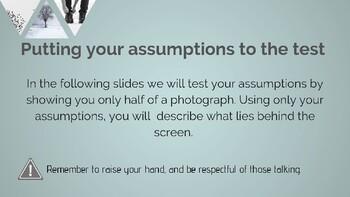 Perception and Assumptions