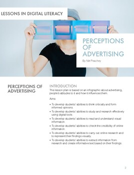 Perceptions of Advertising - Lessons in Digital Literacy