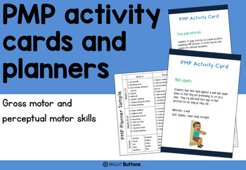 Perceptual Motor Program Activity Cards for Gross Motor Skills
