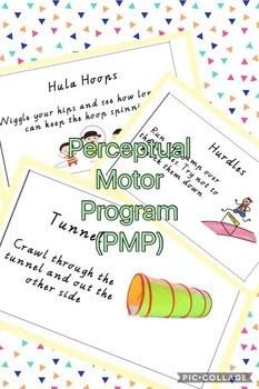 Perceptual Motor Program (PMP) Cards Pack
