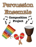 Percussion Ensemble Composition Project
