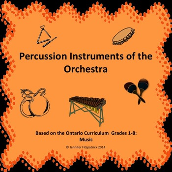 Percussion Family PowerPoint with You Tube Video Links