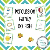 Music Go Fish/matching - Percussion Family