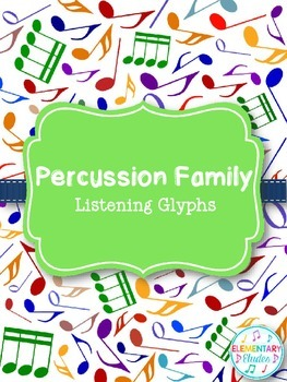 Percussion Family Listening Glyph