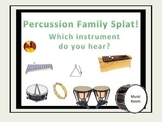 Percussion Family Splat! - A Listening Game.