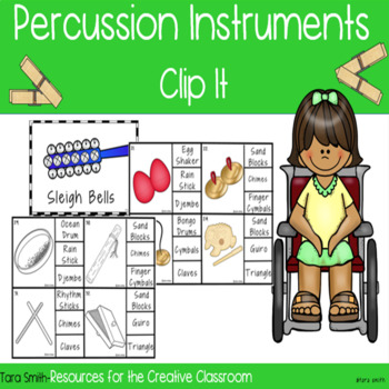 "Percussion Instrument ""Clip It"""