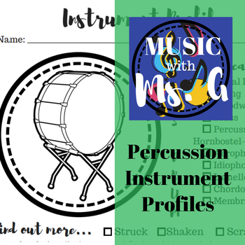 Percussion Instrument Profiles
