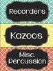 Percussion Labels
