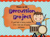 Percussion Project - Making a Percussion Instrument