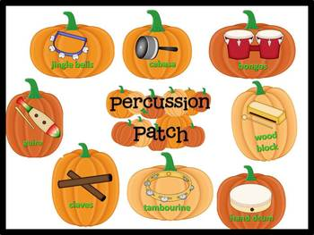 Percussion Patch Bulletin Board for the Music Classroom