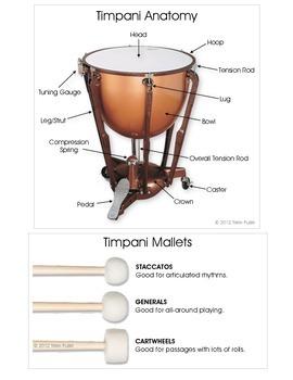 Percussion Posters - Timpani Techniques