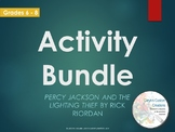 Percy Jackson Activities (Book 1)