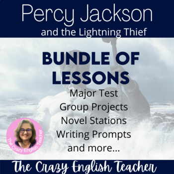 Percy Jackson: Bundle Unit Distance Learning