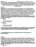 Percy Jackson Chapter 10-15 Reading Skills Study Guide