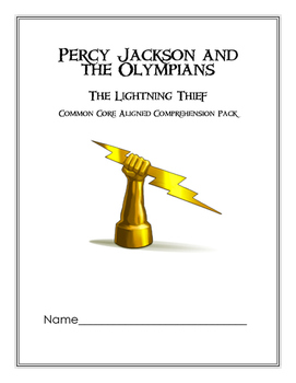 Percy Jackson Comprehension Pack (CC Aligned)