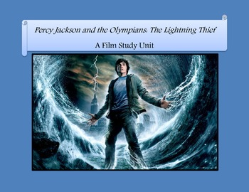 Percy Jackson Film Study Unit
