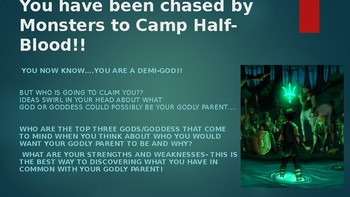 Percy Jackson Godly Parent search