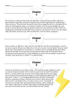 Percy Jackson: Lightning Thief 100 Word Summaries