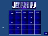Percy Jackson - Lightning Thief Quizzes, Jeopardy, Test Rev. and Test