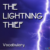 Percy Jackson Lightning Thief: Vocabulary, Crossword Puzzles, Quizzes