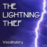 Percy Jackson Lightning Thief: Vocabulary, Crossword Puzzl