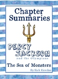 Percy Jackson: Sea of Monsters - Chapter Summaries
