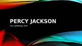 Percy Jackson - The Lightening Thief - Entire Book Powerpoint Lessons