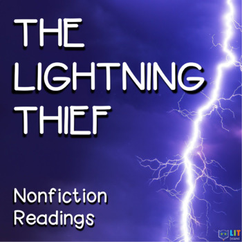Percy Jackson Lightning Thief: 22 Nonfiction Close Readings and Questions